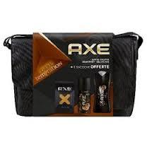 pack axe contenant(gel douche deodorant et  parfum)  15mill fcfa