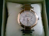 chopard cadrant en or bracelet en or et en acier prix 130mill fcfa